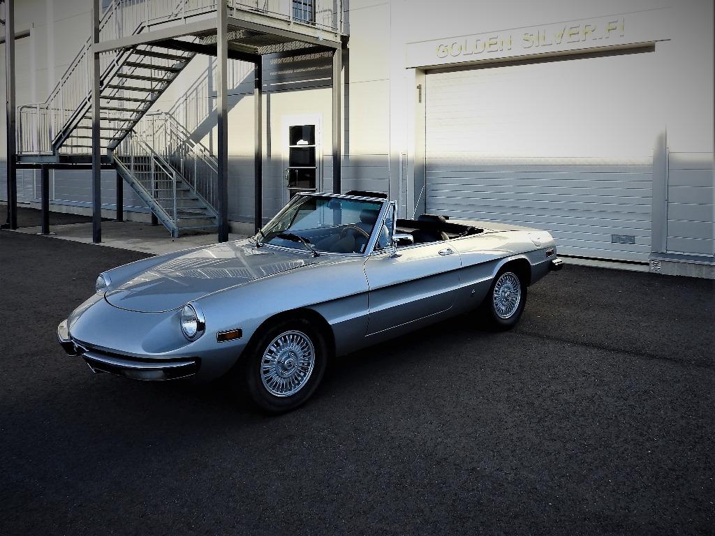 Alfa Romeo Spider >> Alfa Romeo Spider 2000 Iniezione